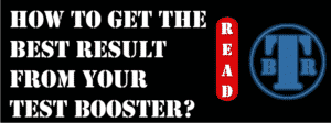 How to get the best result from your test booster